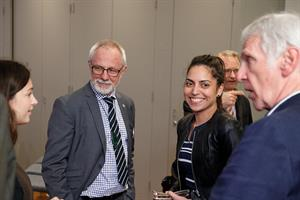 Picture of A/Prof Mark Lane at a Board event