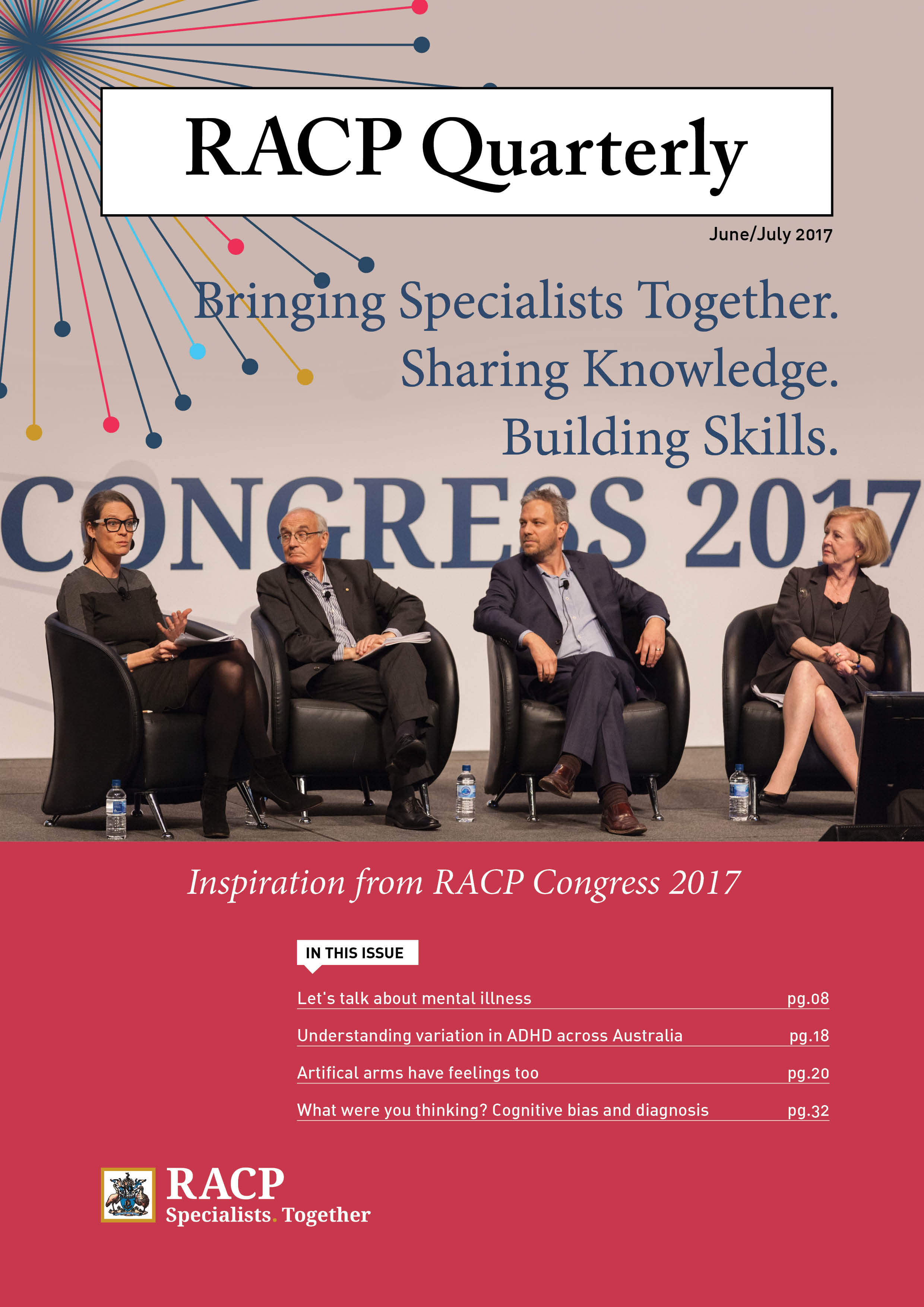 RACP Quarterly June July edition image